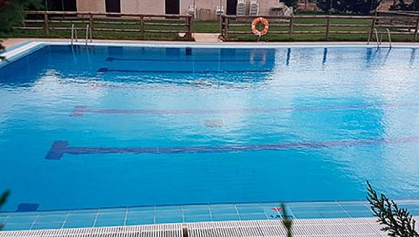 Desinfección en la piscina…