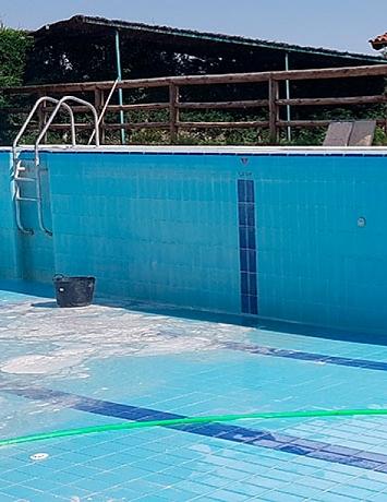 Desinfección de piscinas