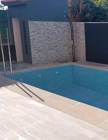 Caseta para piscina